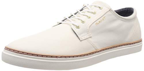 GANT Footwear Herren BARI Sneaker, Weiß (Off White G20), 40 EU - White Bar