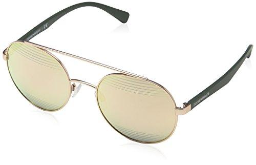 Emporio Armani Herren 0ea2051 Sonnenbrille, Matte Rose Gold, 53