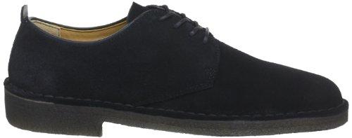 Clarks Originals Desert London, Chaussures à lacets homme Noir (Black Sde)