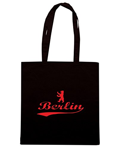 T-Shirtshock - Borsa Shopping TSTEM0141 berlin bear Nero