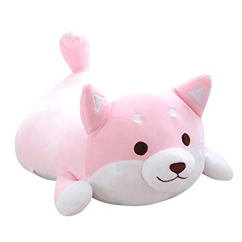 Henreal Entzückendes Fett Shiba Inu Hund Plüsch Spielzeug Gefüllte Weiche Kawaii Tier Cartoon Kissen 30/45/50 cm -