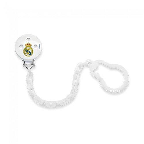 Nuk Real Madrid Cadenita Sujeta Chupetes, 1Ud