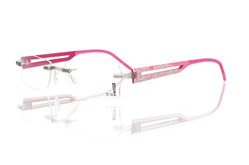 switch it Garnitur Combi 2360 Wechselbügel Montur in der Farbe Style pink, Druck dunkelgrau-grau
