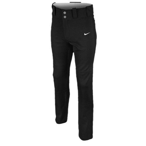 Nike Boy's Core Dri-FIT Open Hem Baseball Pants (L, 010 Black) - Dri-fit-core