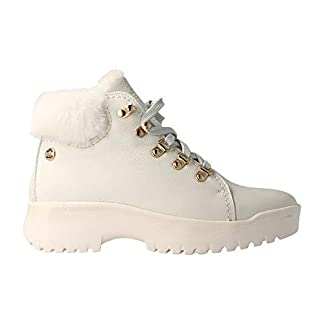 Panama Jack Hellen Igloo Women's Lace-Up Boots Warm Lining Size 6 Blanco/White