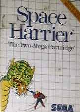 Space harrier - Master System - PAL