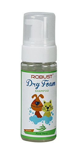 Robust Dry Foam Shampoo with Aloe Vera, 150 ml
