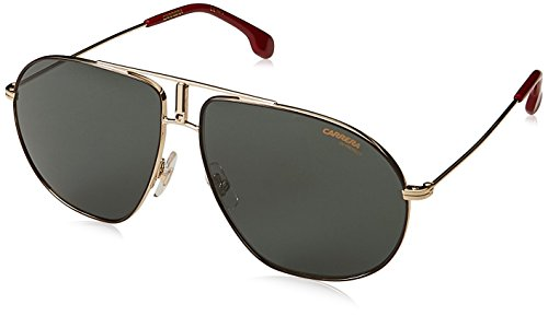 Carrera Gradient Square Unisex Sunglasses - (CARRERA BOUND 01Q 62QT|62|Green Color)