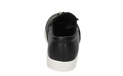 Coco Quaste Damen Creepers Sandalen Plimsolls Kleid Turnschuhe Schuhe Größe 3–8–SwankySwans Schwarz