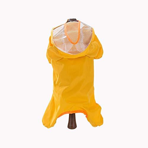 Kostüm Einfach Genie - YF Sommer Hund Regenmantel Wasserdicht Haustier Kleidung Regenwaren Fehlschlag 42Cm Rückenlänge 28Cm