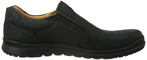 Ecco Howell, Mocassins Homme Noir (Black)