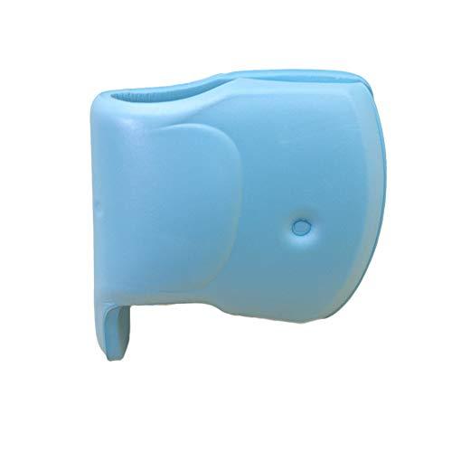 Sungpunet Baby de niño de baño Universal Fit Mantas, Color Azul