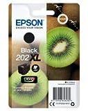 Cartouche d'encre Epson originale 202 XL Noir Amazon Dash Replenishment est prêt