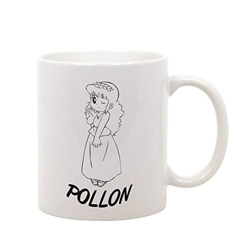 fashwork Tazza Mug in Ceramica Pollon Cartoon - Film Movie Serie TV - Idea Regalo