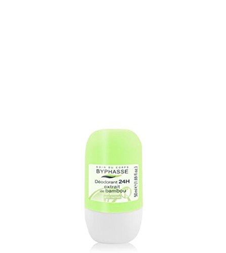 Deodorant Roll-on Bambou / 4 distributeurs de 50ml