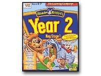Reader Rabbit Year 2 & FREE Pencil Case Set