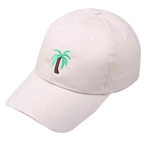 VECDY Cap Damen/Herren Baseball Unisex Sommer im Freien Baum Visier Baseball Cap Verstellbarer Hut Mode Hut