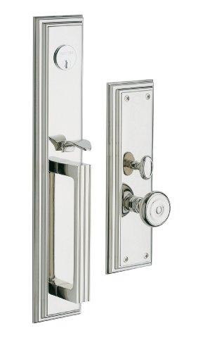 Baldwin Hardware 6542.055. Entr Tremont Set Rand Vorne Tür Griff -
