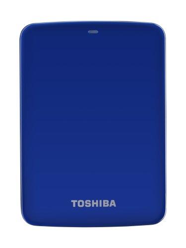 Toshiba Canvio Connect externe Festplatte 1 TB 6,4 cm (2,5 Zoll) USB 3.0 blau