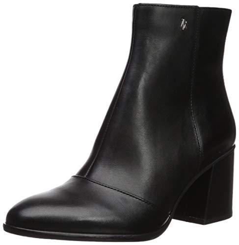 Armani Exchange Damen Ankle Boots Stiefeletten, Schwarz (Black 00002), 40.5 EU