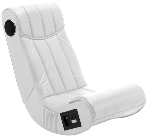 AC Design Furniture 8553 Musiksessel Henk, Bezug Kunstleder mit eingebautem Soundsystem, schwarz
