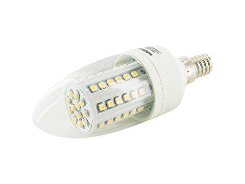 WHITENERGY® | E14 C35 | LED Lampe Kerze| 3.5W | 300 lm | Ersetzt 35W | Warm-Weiß | SMD LED Leuchtmittel – 160° Abstrahlwinkel |