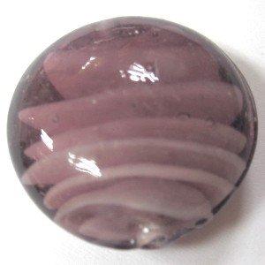 10x per lampade rotondo perline di vetro, Perle A4501/10-20mm