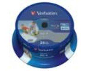 Verbatim 43811 25GB BD-R Leere Blu-Ray Disc, 43811