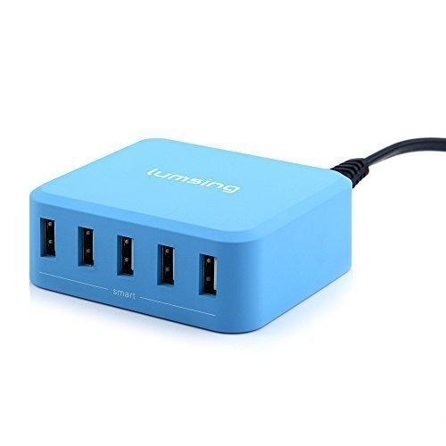 Caricabatterie da Tavolo con 5 USB 40W