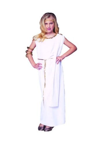 RG Costumes Athena Costume, Child Large/Size 12-14 by RG ()
