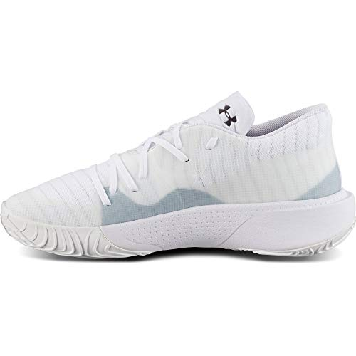 Under Armour Herren UA Anatomix Spawn Low Basketball Schuhe Basketballschuh, Weiß, Size: 48.5