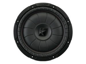 KICKER 43CVT102 10 Zoll Comp-VT Woofer Schwarz Compvt Car-audio-subwoofer