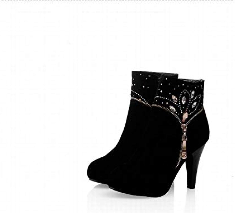 XDX donna 'S scarpe - - - Britannico Martin Stivali Da Donna' S Calzari Alta Moda-Tacco Di Inverno Stivali Caldi 36... | Prezzo Affare  | Scolaro/Signora Scarpa  3b0038