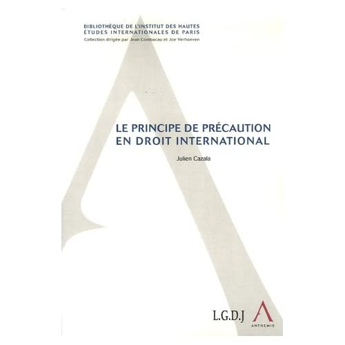 Le principe de précaution en droit international