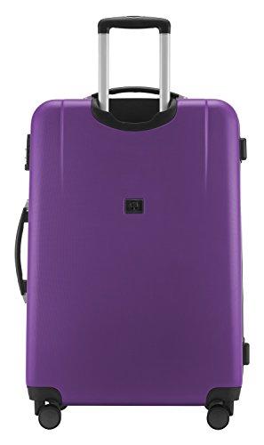 HAUPTSTADTKOFFER - Wedding - Großer Hartschalen-Koffer Koffer Trolley Rollkoffer Reisekoffer Spinner, 4 Rollen, TSA, 75 cm, 103 Liter, violett - 6
