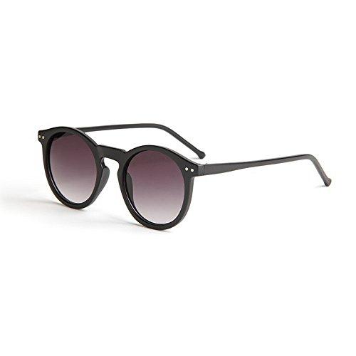 FRAUIT Herren Klassische Rund Sonnenbrille Metallrahmen Polarisierte Unisex Retro Vintage...