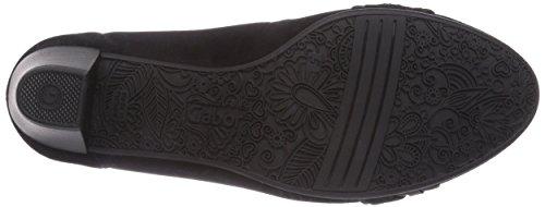 Gabor Gabor, Chaussures à talons - Avant du pieds couvert femme Multicolore - Mehrfarbig (schwarz/anthrazit)