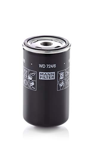 Originale MANN-FILTER Filtro Olio WD 724/6 - Filtro Idraulico - Per Veicoli Comm