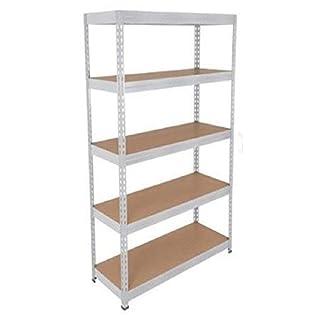 ANZ Heavy Duty Boltless Metal Steel Shelving Shelves Storage Unit Industrial(1500 x 700 x 300) mm
