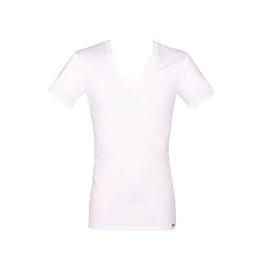 Jockey® Herren, Microfiber V-Shirt, kurzarm, 22311813 weiß (100)