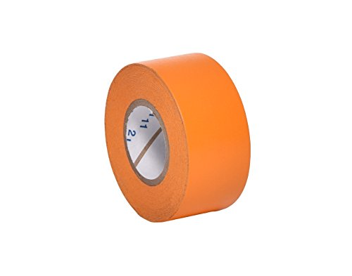 Camlab Beschriftungsband, 2,5 cm breit, 12,7 m lang, Orange, 1