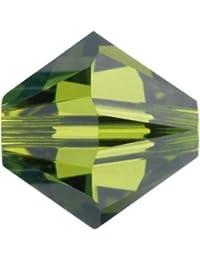 Strasssteine Swarovski Elements Glasperlen Beads 5328 MM 3,0 - Olivine (228)