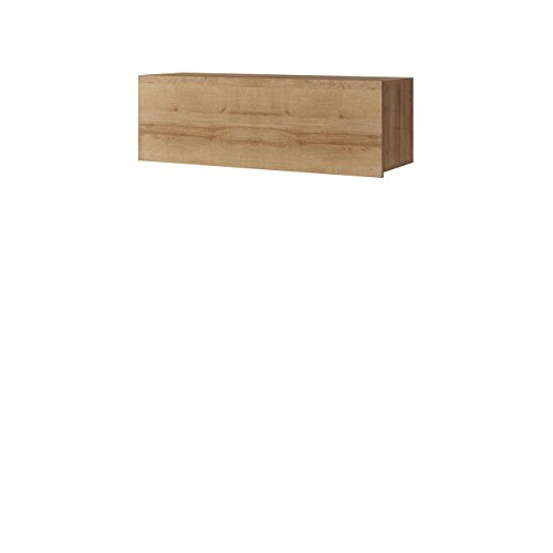 Mirjan24  Hängeschrank Calabrini BR02, Schrank für Wohnzimmer, Wandschrank, Kollektion
