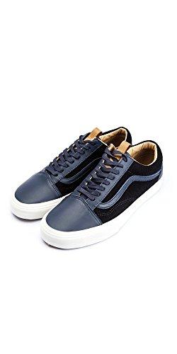 Sneaker Vans Vans?-Hombre?Old Skool ca Leather and Wool Azul para Hombre