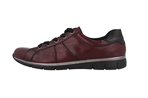 REMONTE R400535 femmes Chaussures à lacets Rouge
