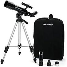 Celestron Travel Scope - Telescopio de 50 mm, color negro