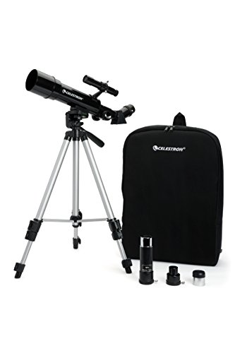 Celestron Travel Scope - Telescopio de 50 mm, color negro