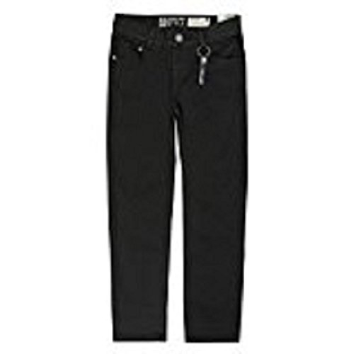 Lemmi Jungen Hose Jeans Boys Tight fit SUPER Big Jeans, per Pack Schwarz (Black Denim|Black 0010), 146 (Herstellergröße: 146)