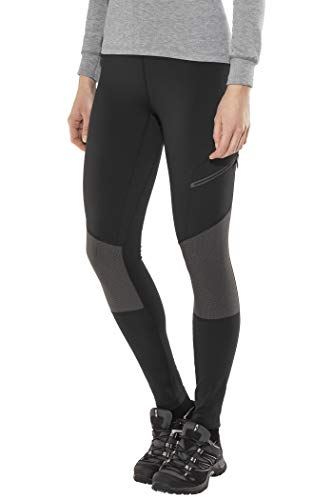 Columbia Titan Peak Trekking Legging Damen, Black, Shark, XL/R Columbia Peak