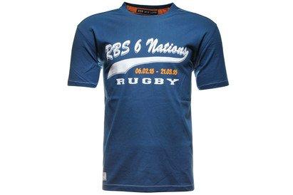 six-nations-rbs-tshirt-de-rugby-impression-script-bleu-delave-taille-xxl